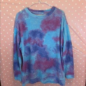 American eagle tie dye sweater size medium